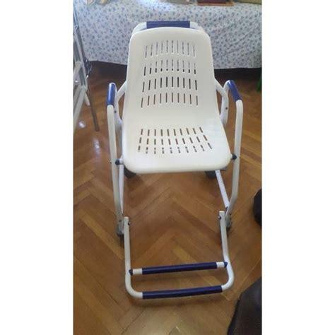 Sedia Doccia Per Anziani Sedia Da Doccia Per Anziani O Disabili Con Ruote Vendo