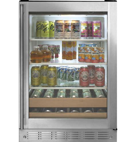 monogram stainless steel beverage center zdbrhbs ge appliances