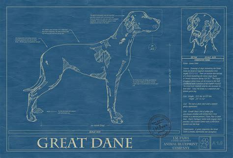 great dane animal blueprint company