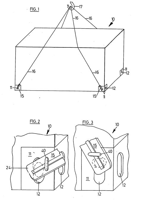 Patent EP0140605A2 - Lifting lug for shipping containers