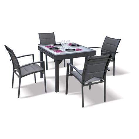 Salon De Jardin Table Et Chaises by Table Et Chaises De Jardin Modulo Blatt Achat Vente