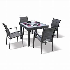 Table Et Chaise Jardin : table et chaises de jardin modulo blatt achat vente salon de jardin table et chaises de ~ Teatrodelosmanantiales.com Idées de Décoration