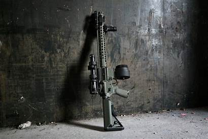 M4 Assault Rifle Wall Weapon Carabiner Wallpapers