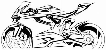 Ducati 1199 Sketches Motorcycle Drawing Bike Meaningful