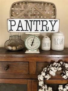 Rustic, Pantry, Sign, Farmhouse, Sign, Farmhouse, Farmhousedecor, Farmhousestyle, Farmhousekitchen