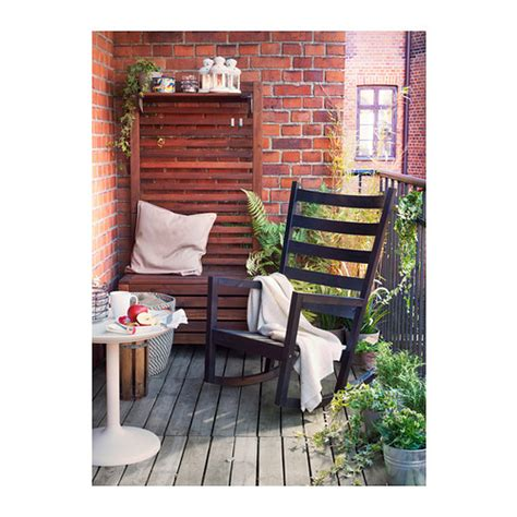 ikea rocking chair outdoor v 196 rmd 214 rocking chair in outdoor black brown stained ikea