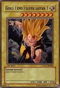 Goku End Super Saiyan 3 Yugioh Card Cool Stuff Like That