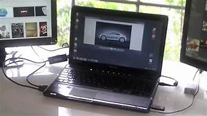 Add 2 External Monitors To A Laptop Usb 3 0 To Hdmi