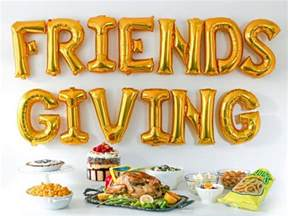 how to host a quot friends quot themed friendsgiving food network thanksgiving entertaining