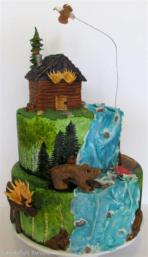 outdoor adventures birthday cake wwwsamantha sweetscom
