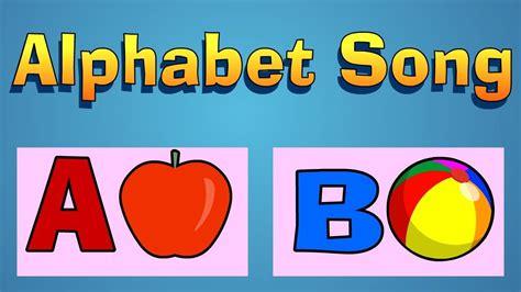 alphabet song youtube