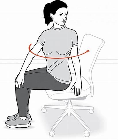 Exercises Digestion Improve Twist Seated Exercise