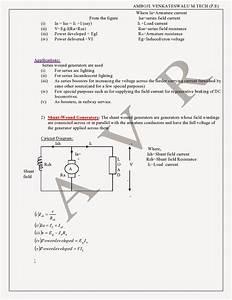 Dc Generators Types Of Generators Emf Equation Power Flow
