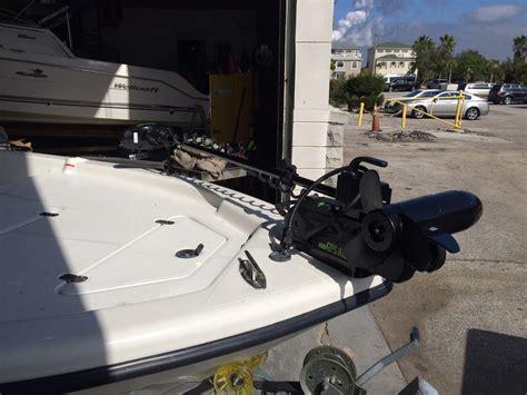 Electric Trolling Motor With Gps by Retrofiting A Rhodan Gps Trolling Motor Onto Your Boat