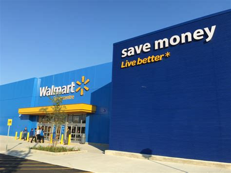 Walmart Opens New Prototype Store In Ontario; Features