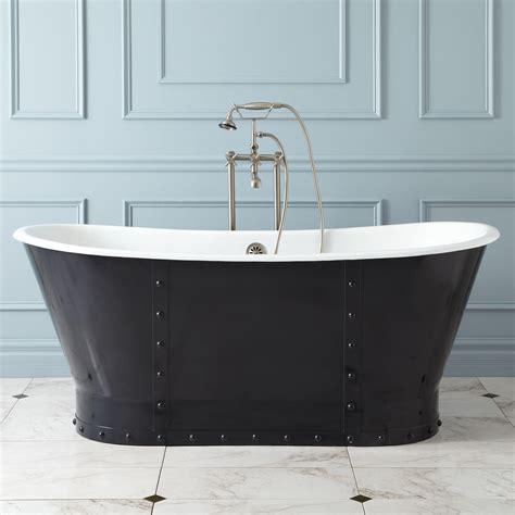 cast iron bathtub 67 quot brayden bateau cast iron skirted tub bathroom