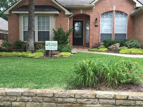 Front Yard Makeovers Before And After  Ryno Lawn Care, Llc