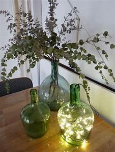 Dame Jeanne Deco : 25 best ideas about bonbonne en verre on pinterest dame jeanne en verre dame et notre dame ~ Teatrodelosmanantiales.com Idées de Décoration