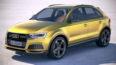2019 Audi Models by 3d Audi Q3 2019 Model Turbosquid 1276006
