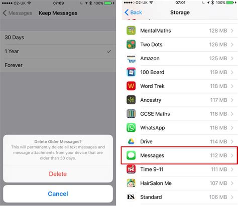 how to delete all messages from iphone and save