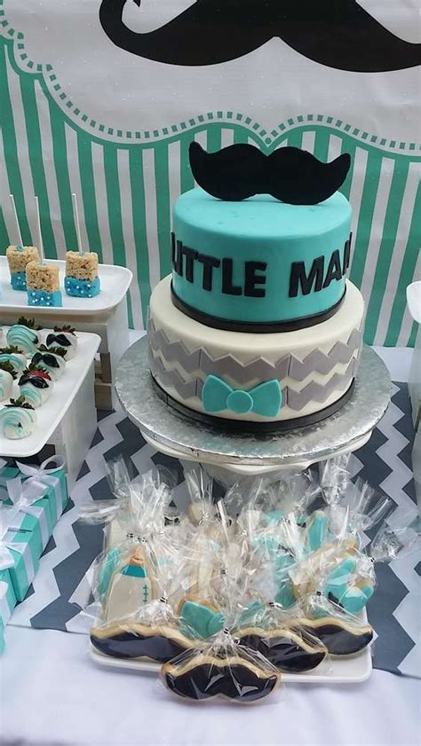 mustaches  man baby shower party ideas baby