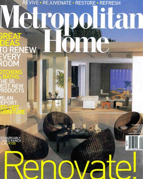 Home Magazine by Hachette Closes Metropolitan Home Magazine With December