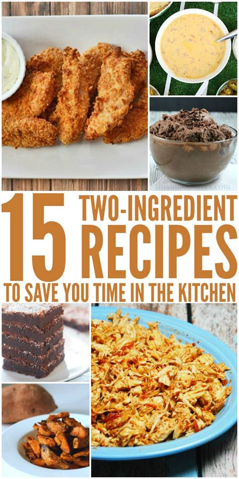 dinner fast    ingredient recipes