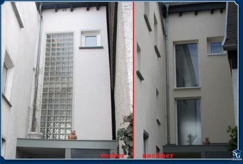 Glasbausteine Ersetzen Glasbausteine Durch Fenster