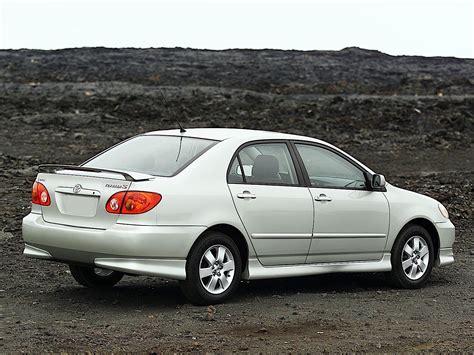 toyota sedan toyota corolla sedan specs 2002 2003 2004 autoevolution