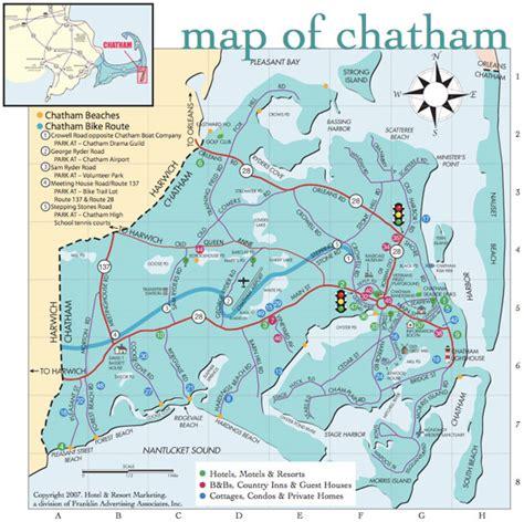 Chatham Cape Cod Map