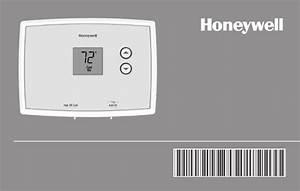 Honeywell Rth111b1024 Operating Manual