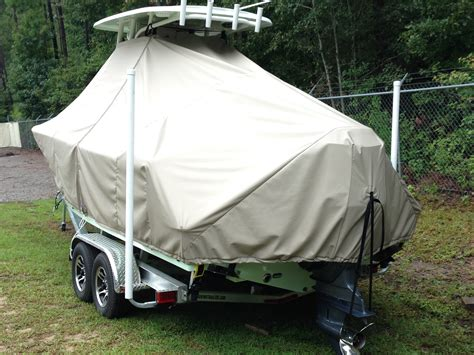 Sportsman Boats T Top by Ttopcovers T Top Boat Cover Weathermax 8oz Fabric For