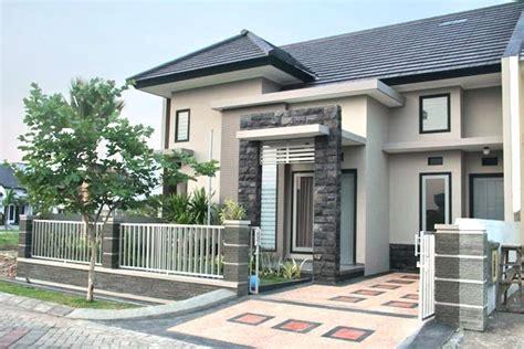 batu alam desain dinding rumah minimalis desain rumah