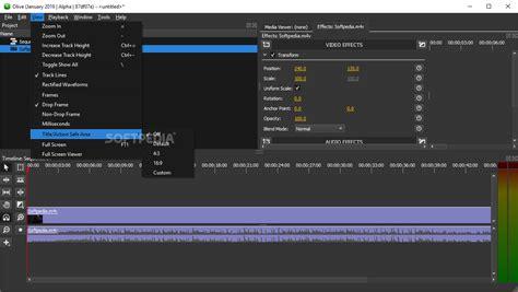 Download Olive Video Editor 0.1 version 1e3cf53 / 0.2.0 ...