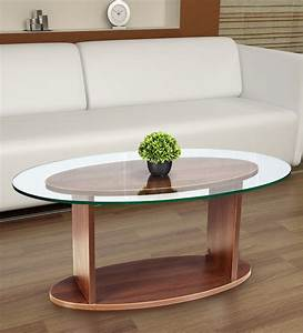 Buy, Oval, Shaped, Glass, Top, Coffee, Table, In, Walnut, Finish, By, Addy, Design, Online