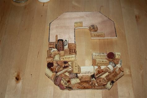 easiest ways   wine cork letters guide patterns