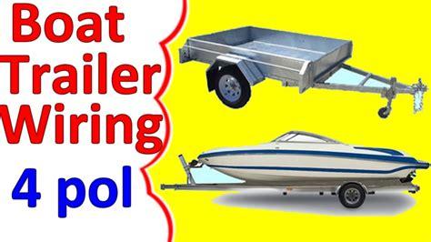 boat trailer wiring diagram 4 youtube