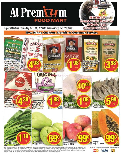 premium cuisines al premium food mart flyer october 20 to 26