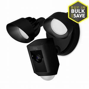 Shop Ring Floodlight Cam Black Digital Wireless Outdoor ...