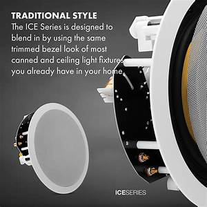 Osd Audio Ice600ttwrs 6 5 U0026quot  Dual Tweeter Stereo Ceiling