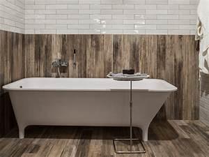 salle de bains bois carrelage chaioscom With salle de bain carrelage bois