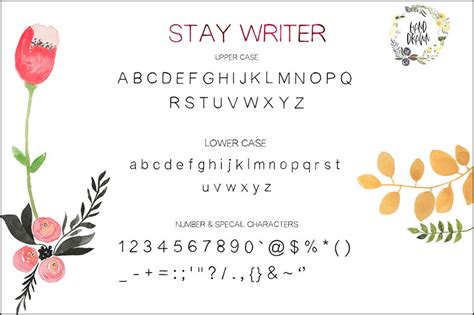 handwriting fonts simple clean  easy  read