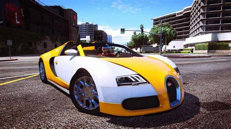Gta 5 Bugatti Name by Gta 5 Bugatti Veyron Grand Sport V2 0 Mod Gtainside