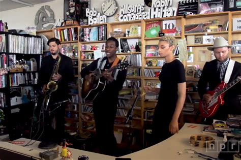 Tiny Desk Concert Macklemore by Bridges Wows Npr S Tiny Desk Crowd Spin
