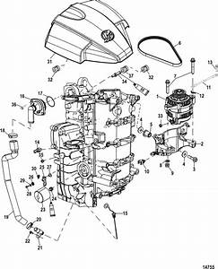mercury marine 90 hp efi 4 stroke alternator starboard With diagram further mercury 115 hp 4 stroke parts diagram moreover mercury