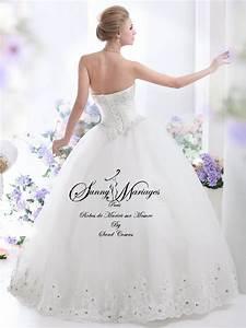 robe de mariee princesse sur mesure et pas cher sunny With robe sur mesure pas cher