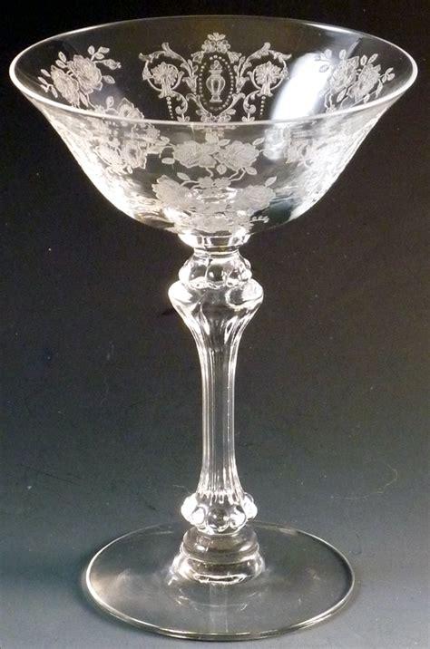 cameo patterns  elegant glass tiffin cherokee rose