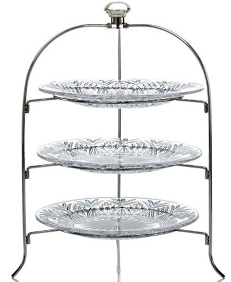godinger serveware dublin  tier serving rack serveware