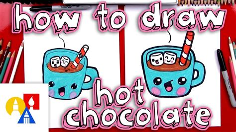 draw cartoon hot chocolate  drawing blog
