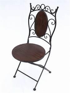 Gartenstuhl Metall Holz : stuhl gartenstuhl hx12581 bistrostuhl 93 cm klappstuhl ~ Lateststills.com Haus und Dekorationen